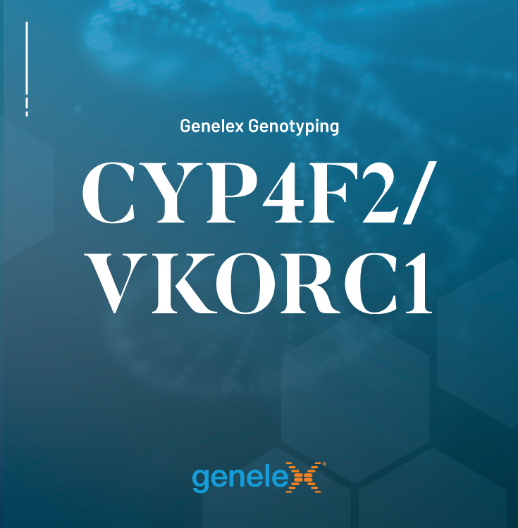 Genelex CYP4F2 and VKORC1 Genotyping